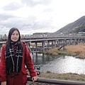 渡月橋是嵐山地標