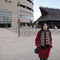 大阪歷史博物館,不小心經過~