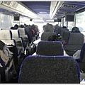 上網訂縱橫旅行社的美東二日遊行程,美國的巴士好遜喔,連個放飲料的茶座都沒有