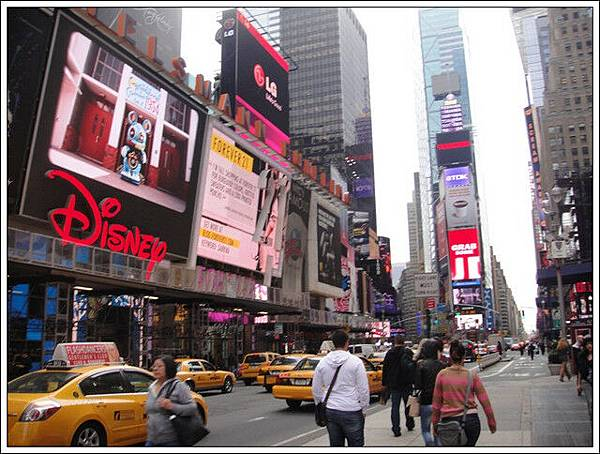 時代廣場街景