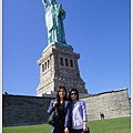 好心的外國人幫忙拍的,島上唯一的一張合照