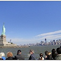 自由女神與曼哈頓