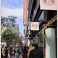 整排都是購物的好地方,舊金山稅率比紐約高一些