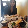 到美國都不吃美式食物,在紐約吃韓國料理,在舊金山吃日本料理