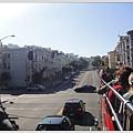 舊金山的街道劃分的好整齊,不過一直在爬山就對了