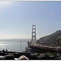 站在不同的角度看金門大橋