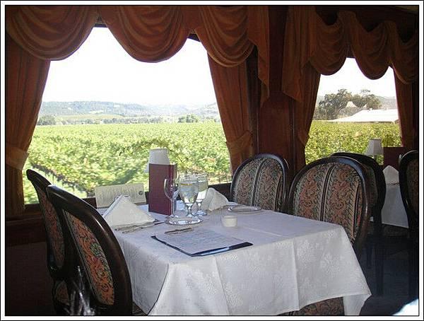 邊吃午餐邊看風景