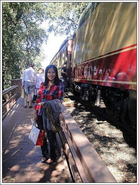 上火車享受人生
