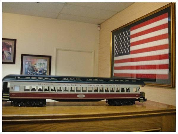 納帕火車模型