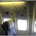 易斯達航空機艙內