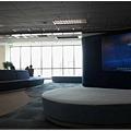 花旗銀行認養的松山機場候機室
