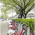 租借腳踏車,好想借一台來騎,可是這種系統外國人不能用!!!