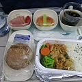 大韓機上餐,肉有夠鹹