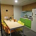 小小交誼廳,吃早餐的地方
