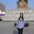 我都有很認真的在介紹世宗大王是發明韓文的人