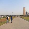 天晴的時候,我在汝矣島漢江市民公園