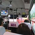 刷T-money搭5001-1巴士,2千韓幣