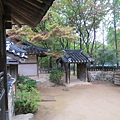 韓國民俗村一景
