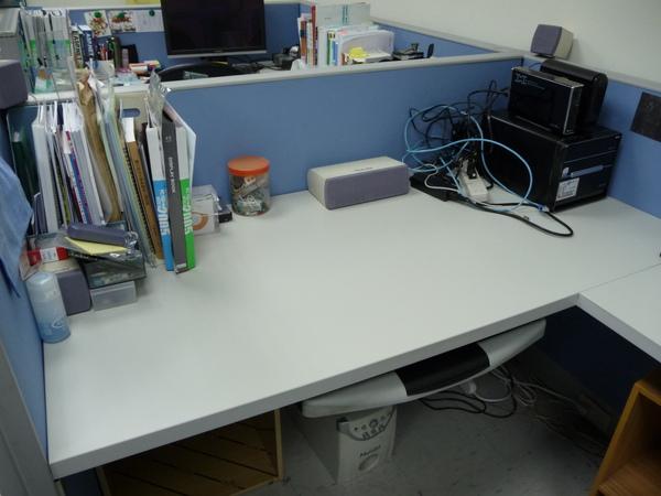 剛清完的桌面2