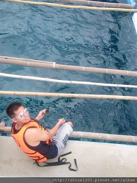 長灘島 珊瑚花園海釣、浮淺、水上活動、香蕉船