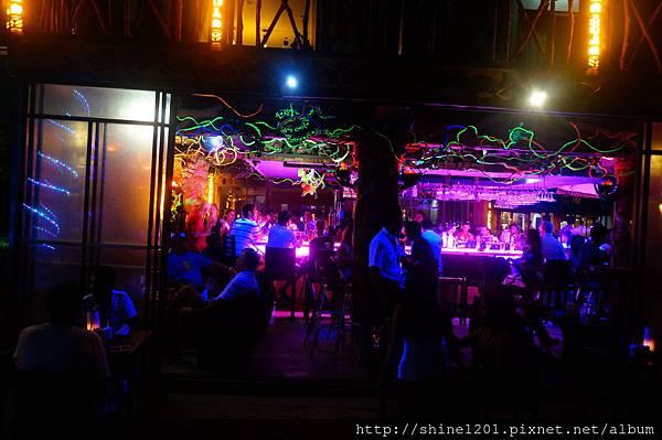 長灘島沙灘夜店