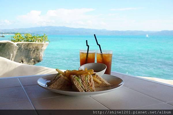 長灘島 WEST COVE西灣飯店無敵海景下午茶