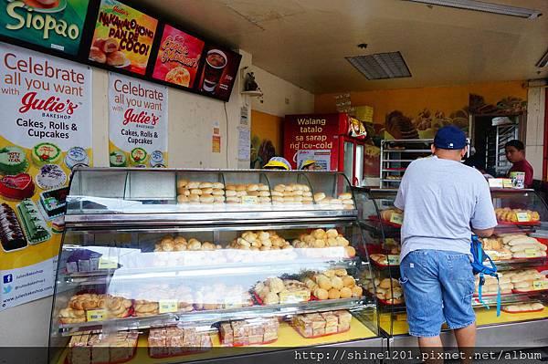 長灘島當地麵包店