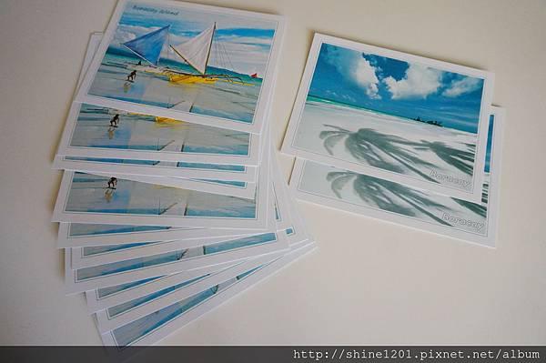 長灘島紀念品-明信片
