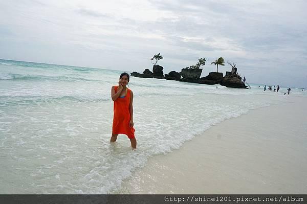 長灘島聖母礁岩