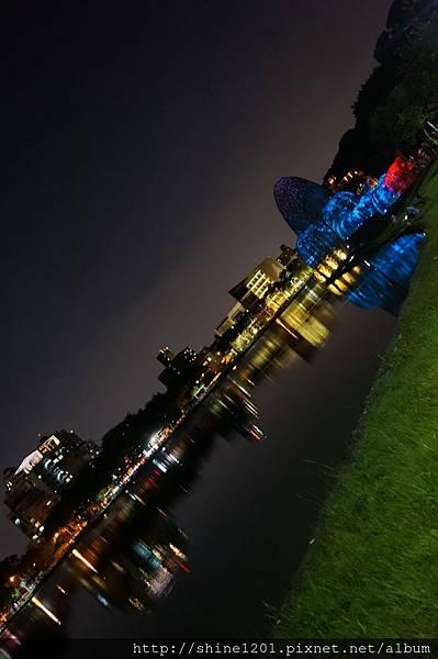 碧湖公園築屋  內湖夜景