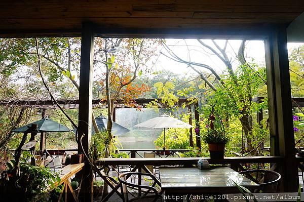 【苗栗溫泉下午茶】湖畔花時間溫泉會館 大湖景觀溫泉下午茶推薦