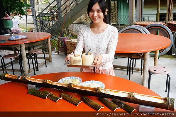 南投特色美食餐廳 天鵝湖竹筒飯套餐  銀杏森林附近餐廳
