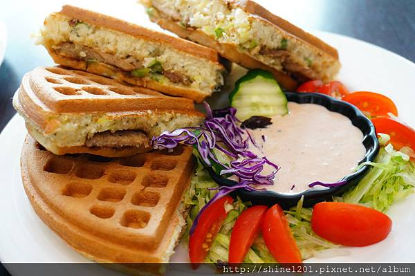 【板橋鬆餅早午餐】182 Pancake.江子翠站華麗鬆餅下午茶推薦DSC02065