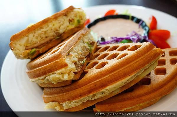 【板橋鬆餅早午餐】182 Pancake.江子翠站華麗鬆餅下午茶推薦DSC02068