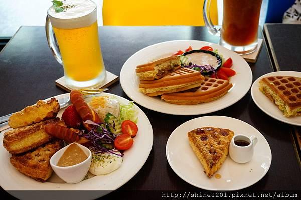 【板橋鬆餅早午餐】182 Pancake.江子翠站華麗鬆餅下午茶推薦DSC02090
