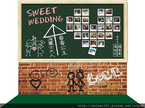 背板婚禮佈置 高雄婚禮佈置 高杰設計婚禮佈置