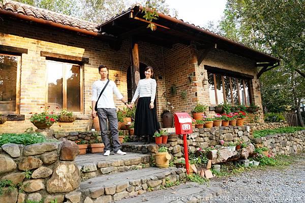 南投特色景點文心園花園咖啡