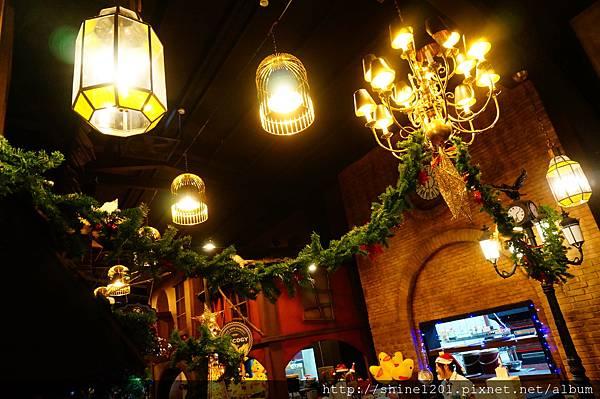 宜蘭特色餐廳景點 四圍堡車站哈利波特風餐廳