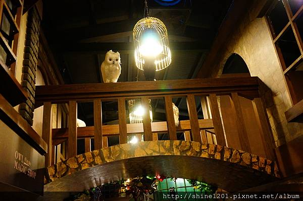 宜蘭特色餐廳景點 四圍堡哈利波特風餐廳
