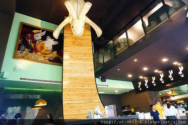 【高雄左營下午茶】Magic Rabbit懷錶兔子.美術館附近餐廳