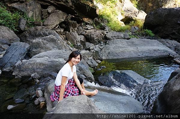 【屏東枋山.墾丁旅遊景點】卡悠峯瀑布.步行15分鐘可達的祕境