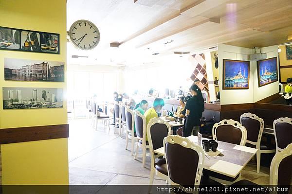 永安市場站早午餐.下午茶 肥禿子美式餐廳.8盎司漢堡排絕對滿足.中和美食