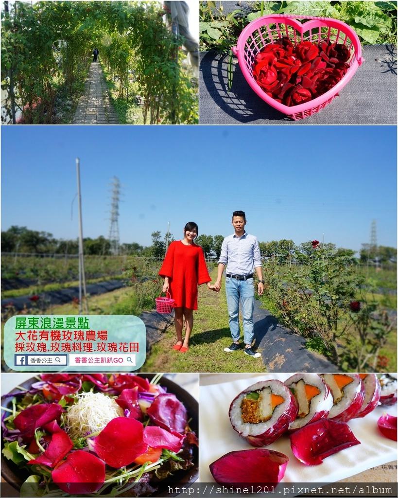 【屏東美食景點】大花有機玫瑰農場景觀餐廳.日光玫瑰夢幻入菜