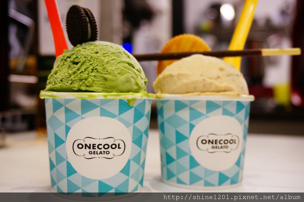 松江南京站美食 下午茶 OneCool Gelato玩酷義式冰淇淋小酒吧