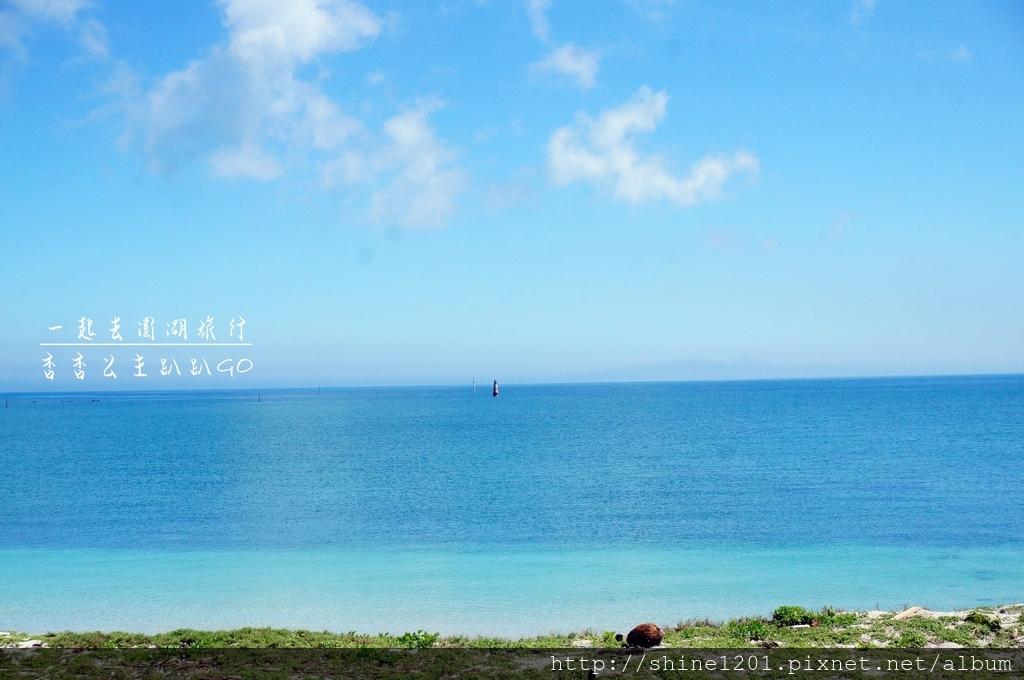 澎湖海景民宿-23.5蔚藍 帶BIG MOUTH造型泳圈.玩水用品清涼去