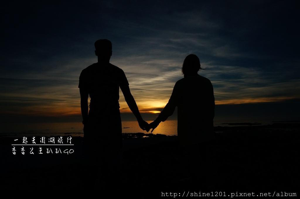 吉貝島夕陽 日落