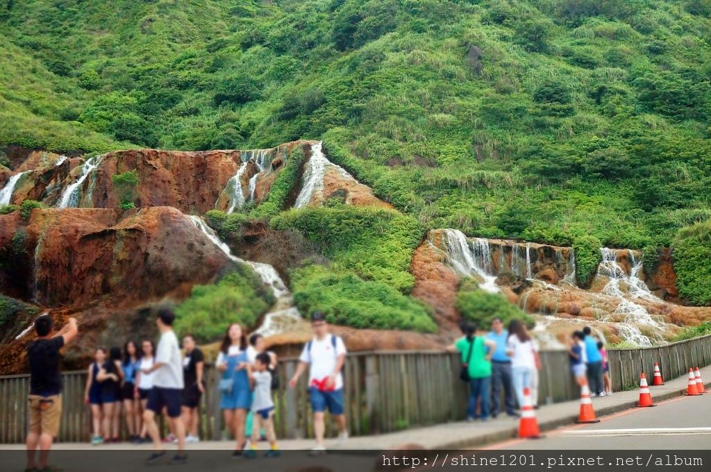 瑞芳景點-金瓜石瀑布 (金瓜石周邊景點)