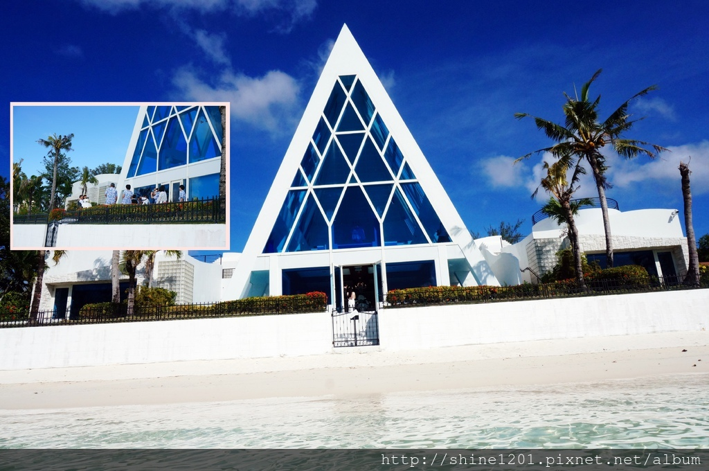 藍星教堂|關島景點.杜夢灣教堂