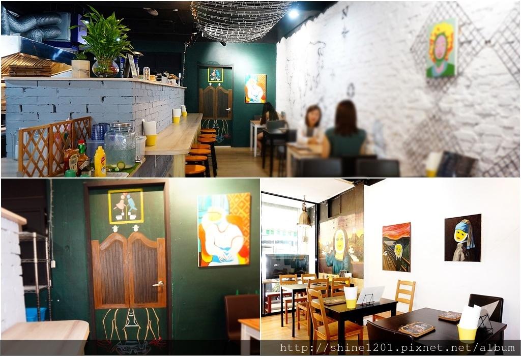 中山區早午餐 奇點+早午餐|晴光商圈美食.中山國小站美食