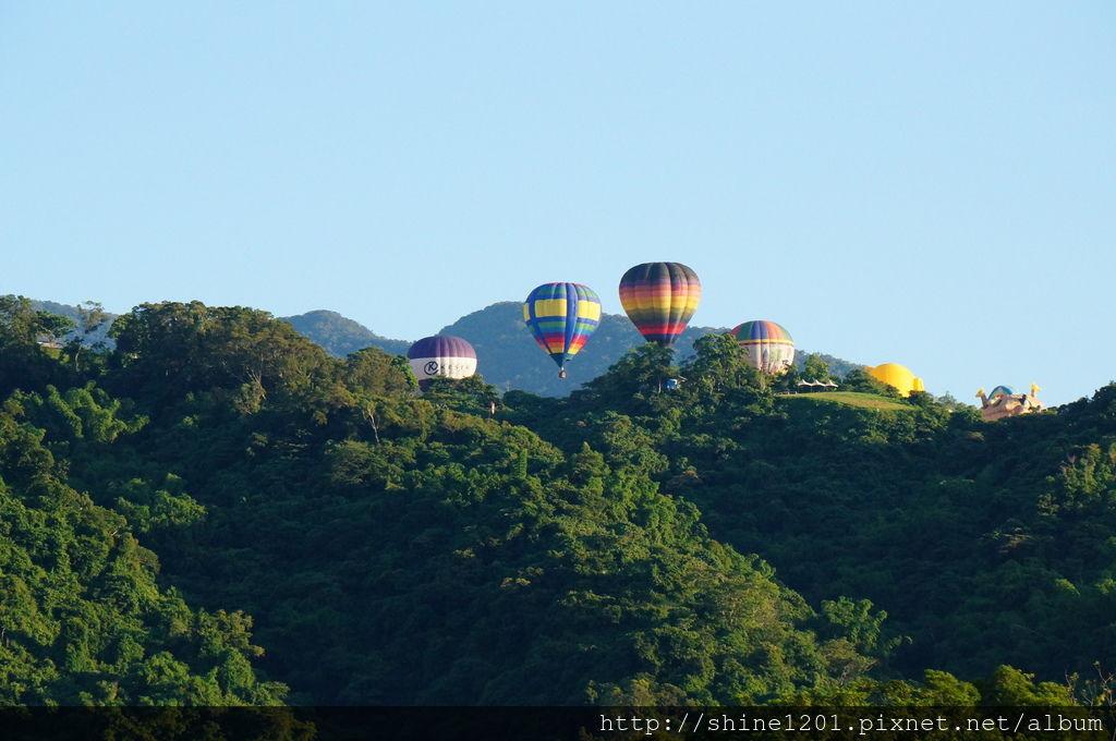 鹿野高台台東熱氣球季|台東景點.鹿野景點